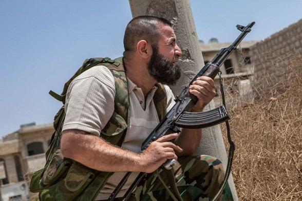 Conflicto en Siria (Foto AFP)