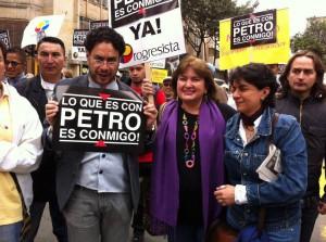 Iván Cepeda, del Polo Democrático y la Marcha Patriótica, movimientos proterroristas