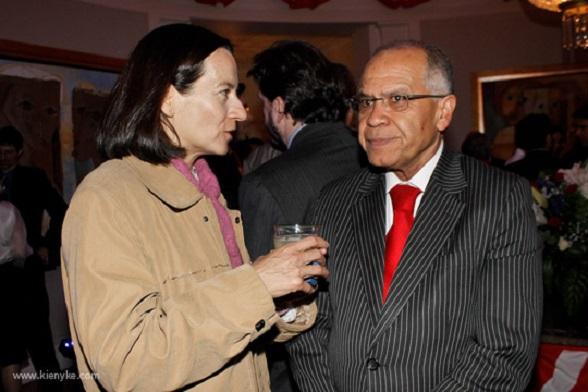 Alfonso Gómez Méndez y Clara Rojas