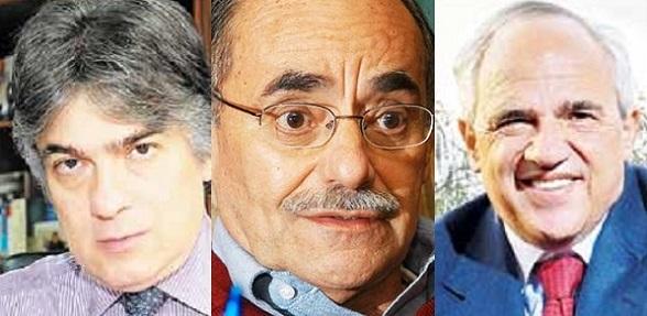 Ramiro Bejarano, director del Das en la época del asesinato de Gómez Hurtado. Horacio Serpa, ministro en la misma época, y Ernesto Samper, presidente en igual época