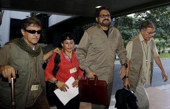 Iván Márquez, Rodrigo Granda, Jesús Santrich