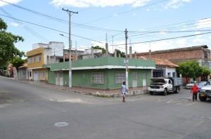 Esta es la casa de la profesora Emma Moros, tía de Nicolás Maduro. Allí vivió el hoy presidente venezolano (Foto Periodismo Sin Fronteras)