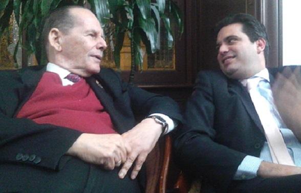 Roberto Gerleín y Simón Gaviria