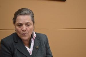 Clara López Obregón (Foto Periodismo Sin Fronteras)