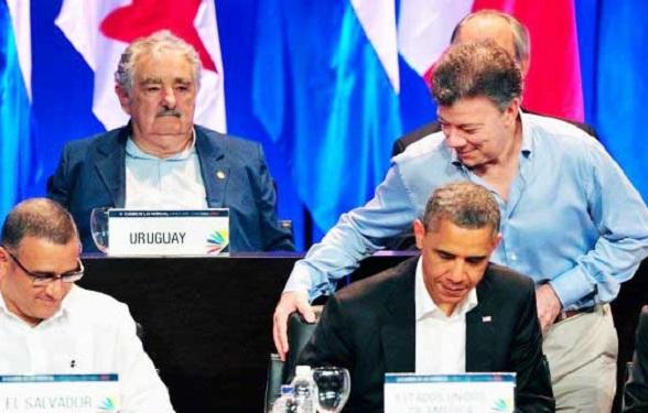 Juan Manuel Santos y Barack Obama se reunen de nuevo