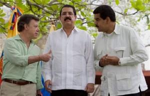 Santos, Zelaya y Maduro, fichas castristas en Latinoamérica
