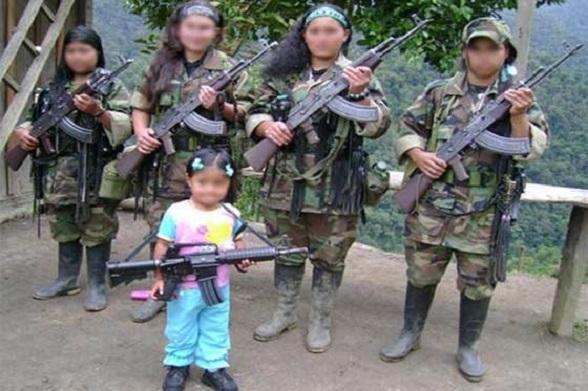 """Menores de edad reclutadas por las FARC. Una realidad que sigue sucediendo en medio de las """"conversaciones de paz"""""""