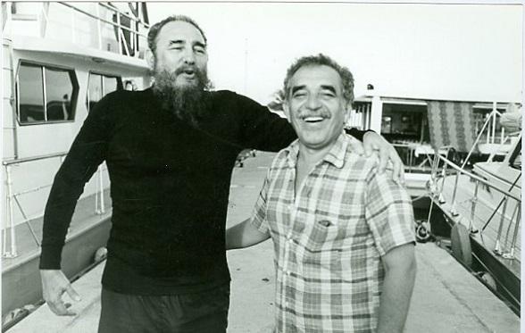 Fidel Castro y Gabriel García Márquez