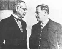 Alfonso López Pumarejo y Plinio Mendoza Neira, primer civil en ser Ministro de Guerra