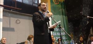 Andrés Villamizar, Director de la UNP, aquí en un homenaje a la UP, el partido político de las FARC, en noviembre 16 de 2013