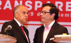 Alfonso Gómez Méndez y Gustavo Petro