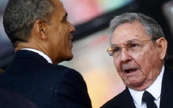 """""""Señor Presidente, yo soy Castro"""", le dijo sumisamente Raúl Castro a Obama"""