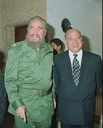 José Miguel Insulza y Fidel Castro