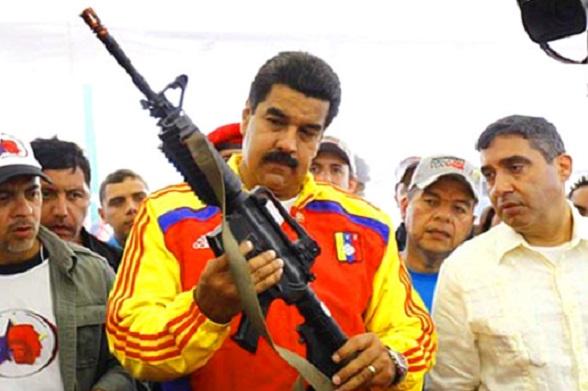 Nicolás Maduro atiza la violencia en Venezuela
