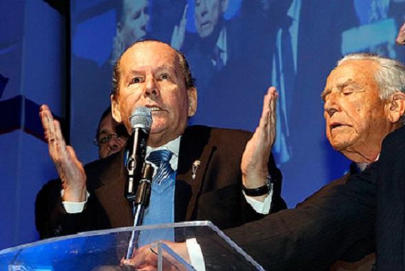 Roberto Gerlein en la Convención Conservadora (Foto Semana)