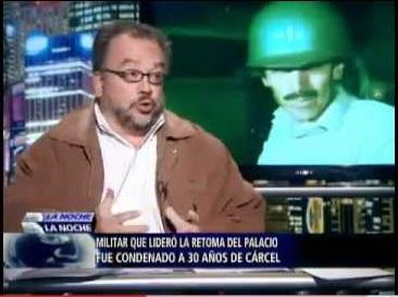 """Ricardo Puentes Melo en """"La Noche"""", denunciando la suplantación de testigos en el caso Plazas Vega"""