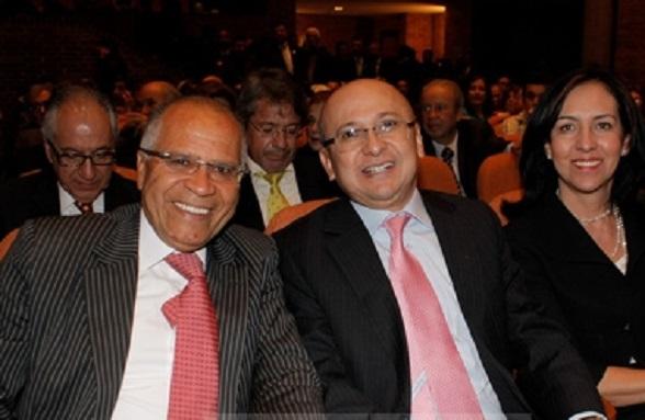 Eduardo Montealegre, aquí junto al tenebroso Alfonso Gómez Méndez