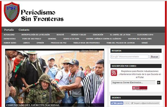Periodismo Sin Fronteras, atacado sistemáticamente por el gobierno de Santos
