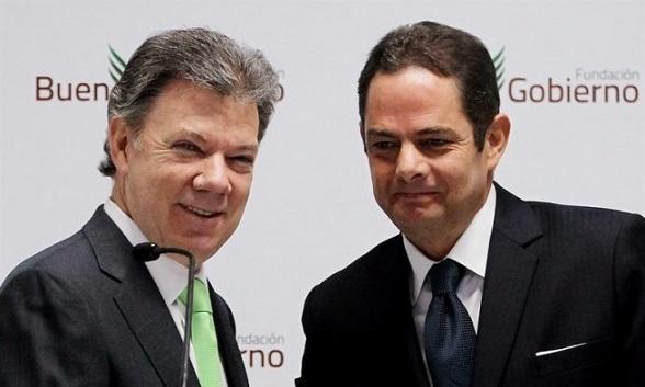 Juan Manuel Santos Y Germán Vargas Lleras