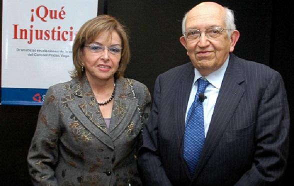 Thania Vega de Plazas y Plinio Apuleyo Mendoza