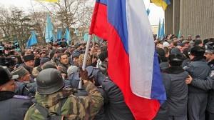 El Parlamento de Crimea votó a favor de unirse a Rusia