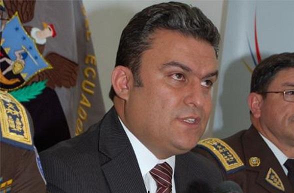 José Serrano Salgado, Ministro del Interior de Ecuador