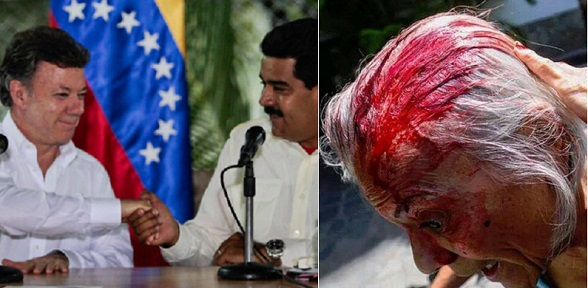 El apoyo a Maduro mientras éste asesina a su pueblo