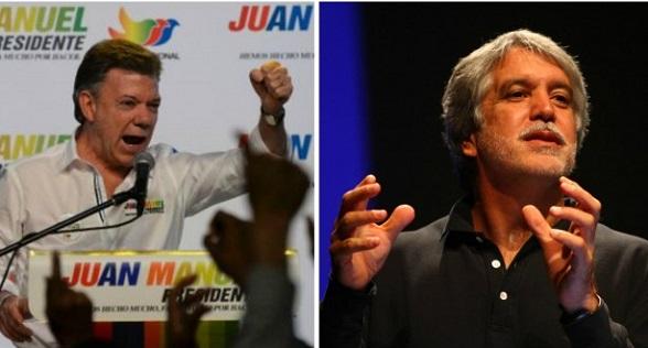 Juan Manuel Santos y Enrique Peñalosa. Demandadas sus inscripciones presidenciales