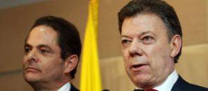 Santos y Vargas Lleras. Parece que no hay fórmula que los venza (Foto El Colombiano)