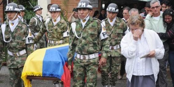 Soldados asesinados en Arauca durante el gobierno de Juan Manuel Santos