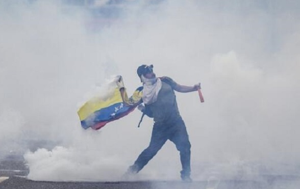Disturbios en Venezuela Febrero de 2014