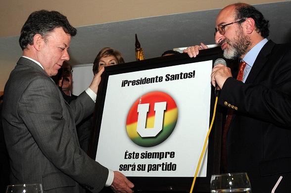 Asamblea del Partido de la U, en octubre 28 de 2012