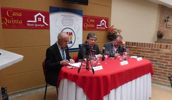 Carlos Holmes Trujillo, en el Foro de Ideas Para la Democracia