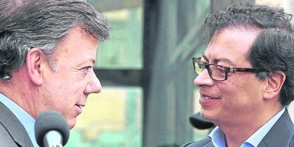 Juan Manuel Santos y Gustavo Petro, dos caras de la misma moneda