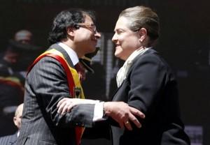 Gustavo Petro y Clara López