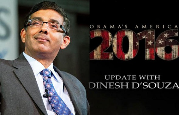 "Dinesh D'Souza, filmógrafo conservador, director del documental ""América"""