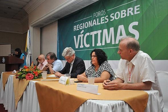 Foro de Víctimas organizado por la ONU y la Universidad Nacional