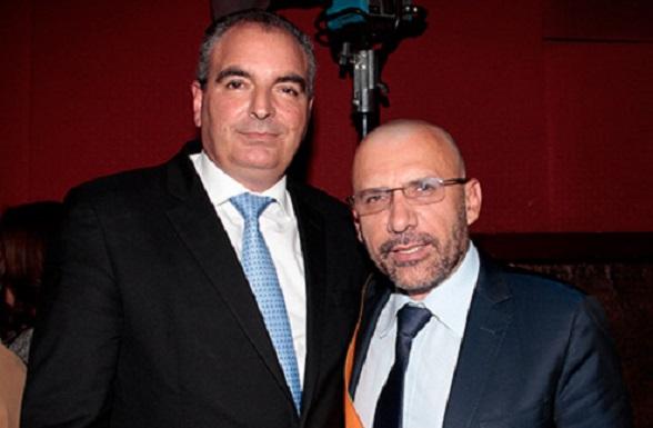 Aurelio Iragorri Valencia y Roy Barreras