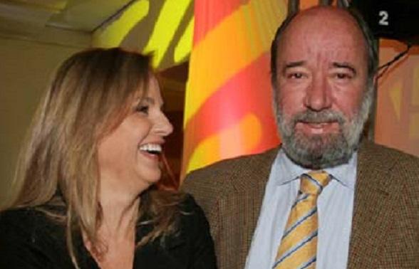 Antonio Caballero y Gina Benedetti de Santos