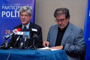 Fabrizio Hochschild y Alejo Vargas, gestor de los Foros Agrarios de las FARC