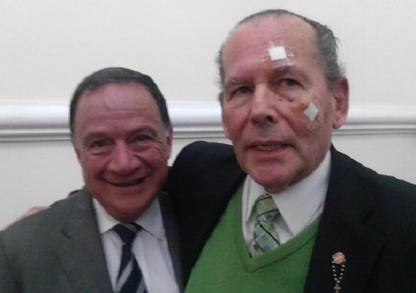Gerlein con Carlos Eduardo Enriquez Maya