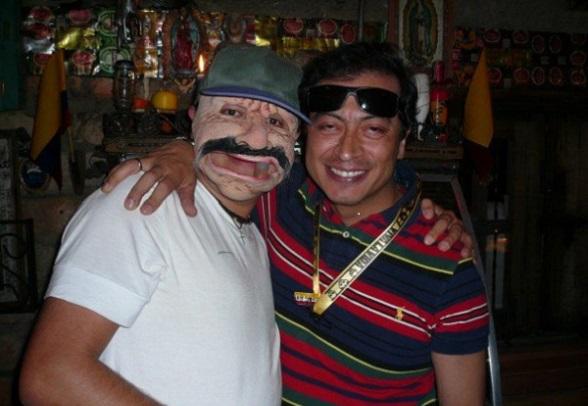 Gustavo Petro y un extraño amigo