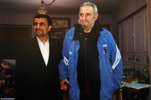 Ahmadinejad y Castro