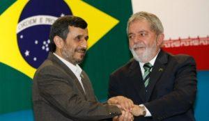 Ahmadinejad y Lula da Silva