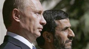 Ahmadineyad y Putin