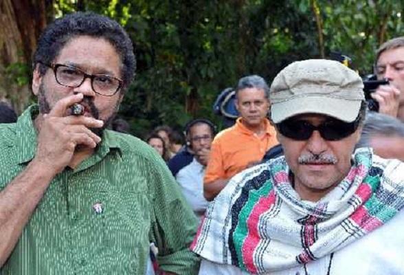 Iván Márquez y Jesús Santrich. Tan peligrosos como cínicos