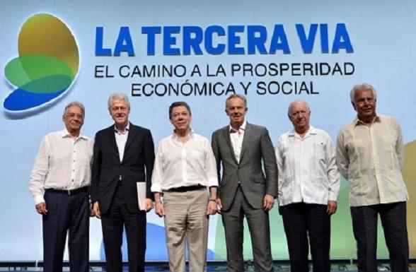 """La Tercera Vía, un eufemismo para el comunismo """"light"""": Cardoso, Clinton, Santos, Blair, Lagos y González"""