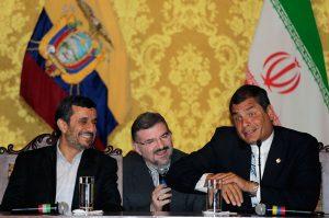 Rafael Correa y Mahmud Ahmadinejad