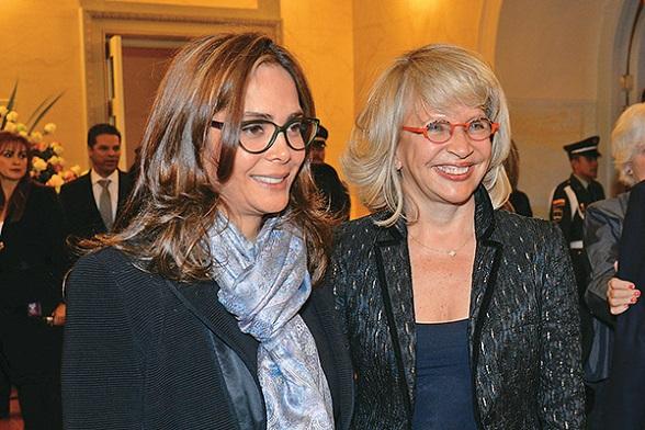 Gina Parodi y Cecilia Álvarez, pareja de lesbianas y ministras de Estado en Colombia