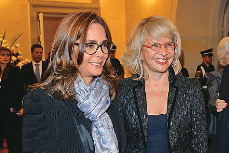 Las ministras del gobierno de Santos, Gina Parody y Cecilia Álvarez, son pareja homosexual